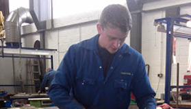 sam stewart apprentice engineer