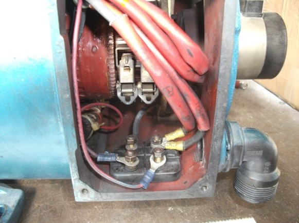 DC shunt motor with no obvious signs of damage Mawdslets BeR