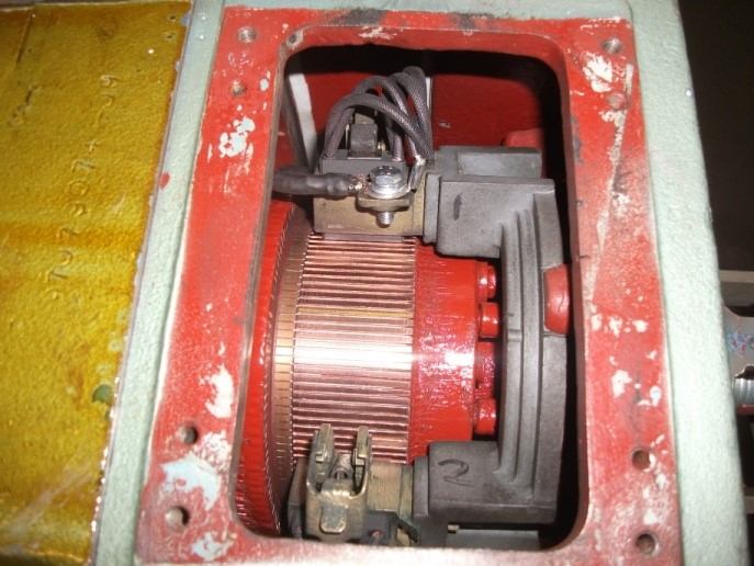 repaired dc motor for the plastics industry - Mawdsleys BER Bristol