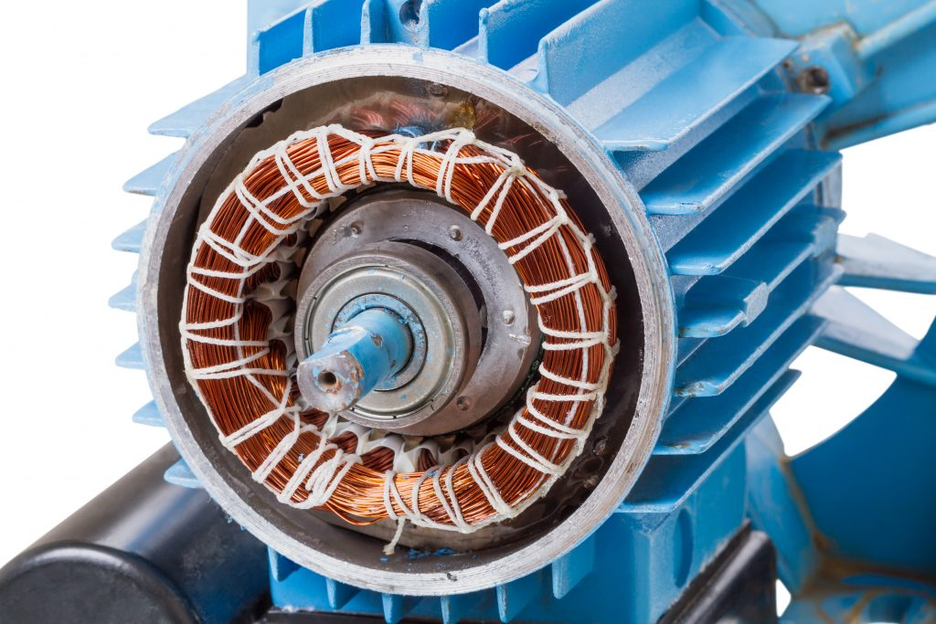 Rewind and repairs of ac motors and common problems for Ac electric motor repair