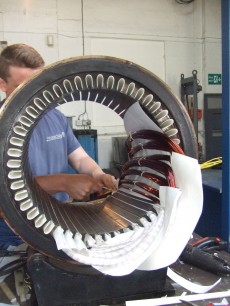 Electric Motor rewind and repair