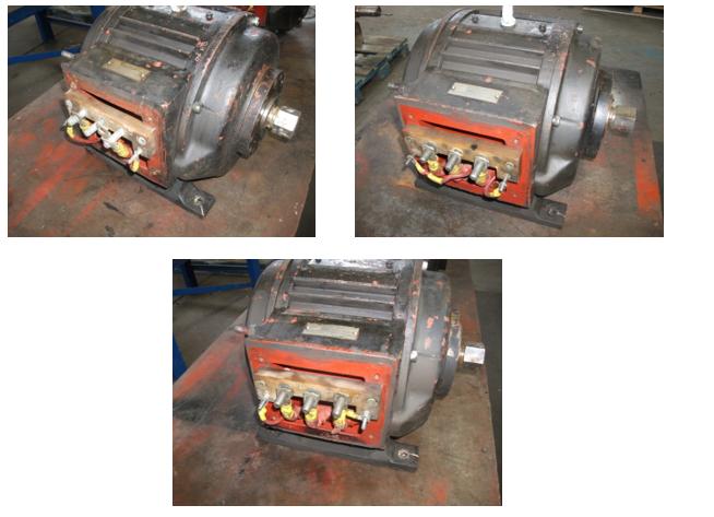DC Traction Motor Alternator Before Overhaul