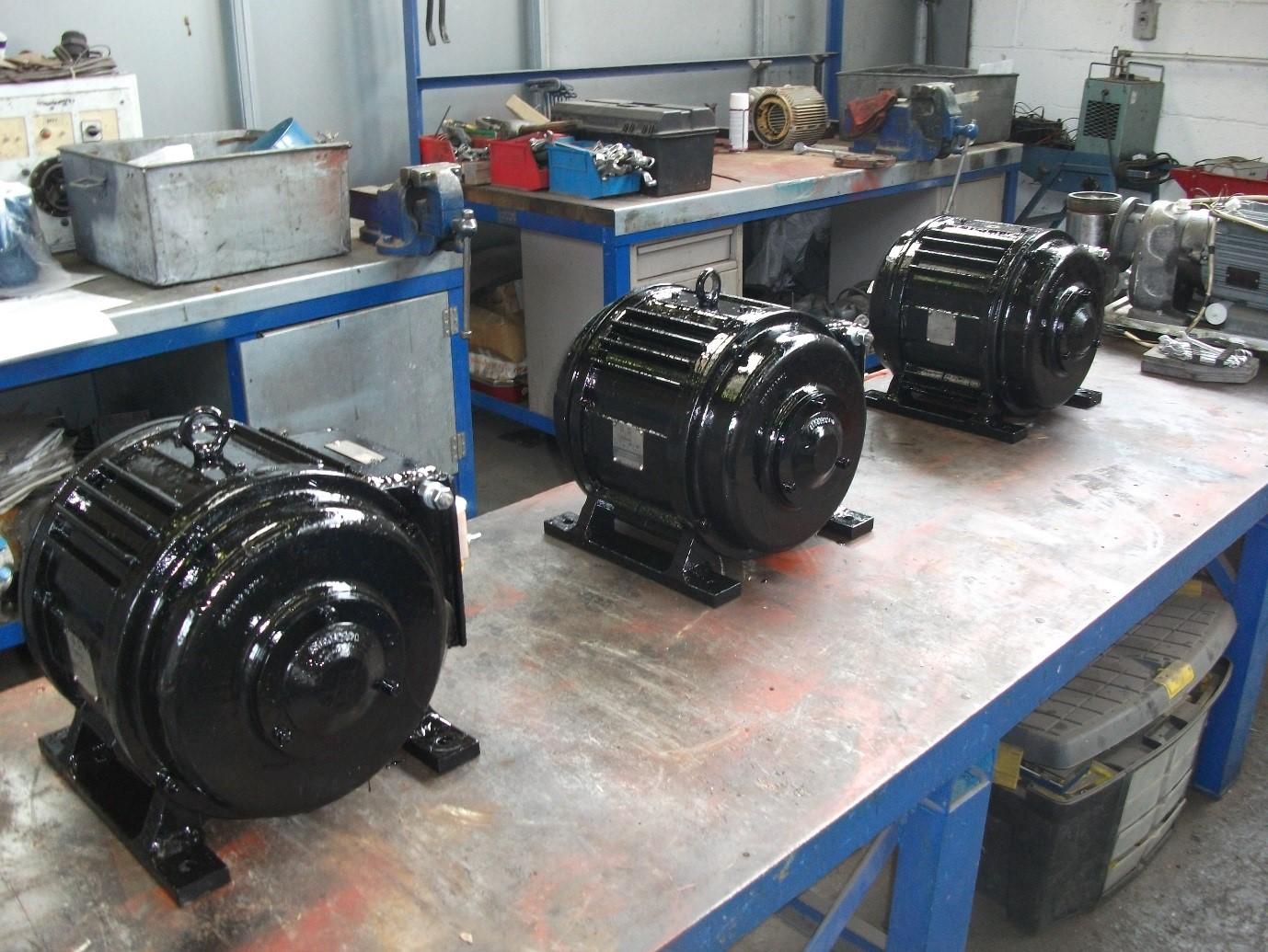 Rail motor repairs ac dc traction motor repairs mawdsleys for Dc electric motor repair