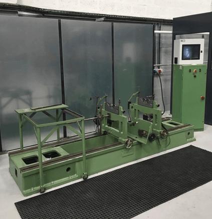 Inhouse Balancing Machine at Mawdsleys